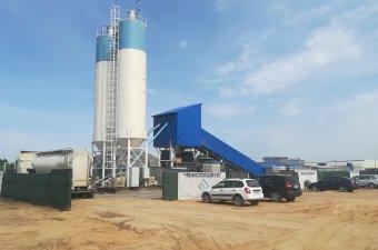Бетонный завод BW MIX 60 конвеер